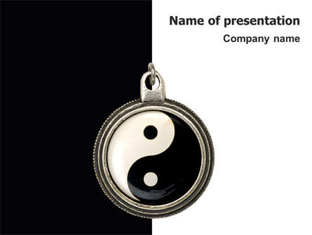 Yin yang powerpoint template backgrounds 02525 yin yang powerpoint template toneelgroepblik Gallery