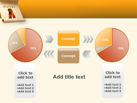 Sealed Diploma PowerPoint Template Slide 11