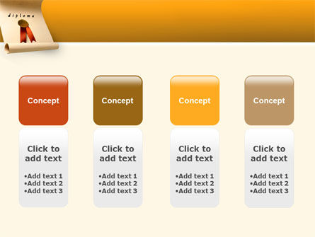Sealed Diploma PowerPoint Template Slide 5