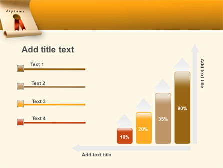 Sealed Diploma PowerPoint Template Slide 8