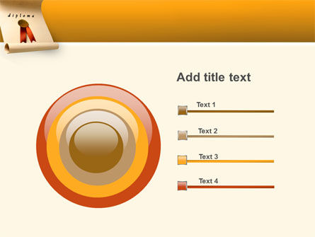 Sealed Diploma PowerPoint Template Slide 9