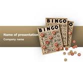 Art & Entertainment: Bingo PowerPoint Template #02531