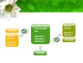 Ox-eye Daisy PowerPoint Template#13