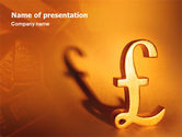 Financial/Accounting: 파워포인트 템플릿 - 파운드 #02534