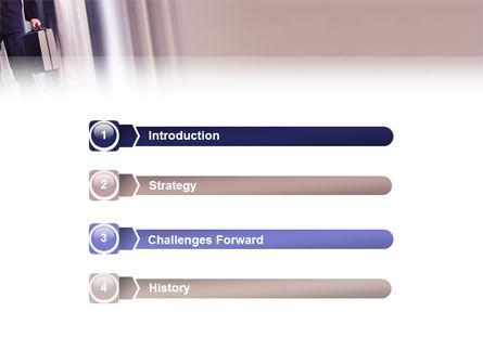 Business Talk PowerPoint Template, Slide 3, 02535, Business — PoweredTemplate.com