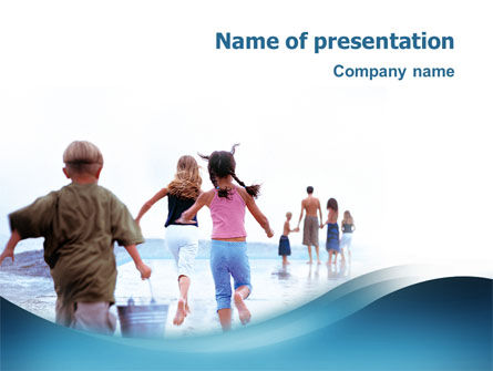 People: Water Thirst PowerPoint Template #02537