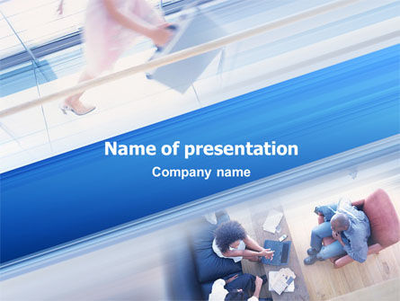 Interview PowerPoint Template, 02543, Business — PoweredTemplate.com