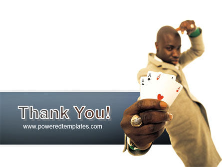 Crooked Gambler PowerPoint Template Slide 20