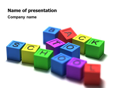 Education & Training: School PowerPoint Template #02547
