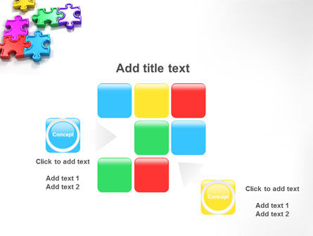 Puzzle Game PowerPoint Template Slide 16