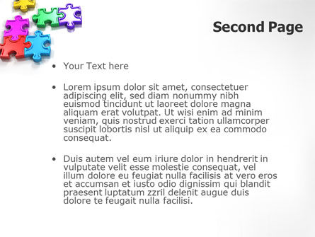 Puzzle Game PowerPoint Template Slide 2