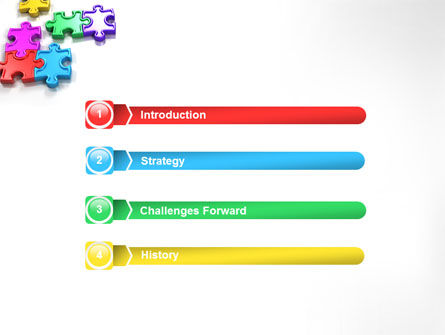 Puzzle Game PowerPoint Template Slide 3
