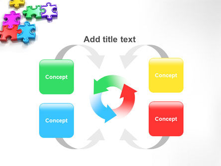 Puzzle Game PowerPoint Template Slide 6