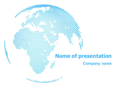 Clusters Of World PowerPoint Template