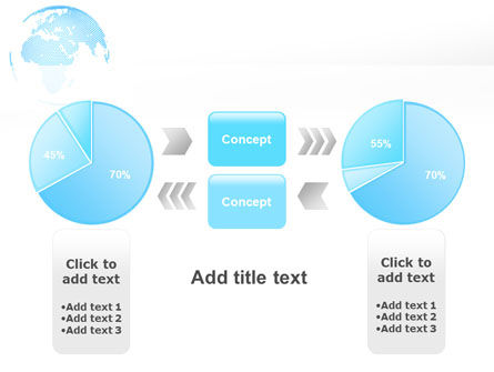 Clusters Of World PowerPoint Template Slide 11