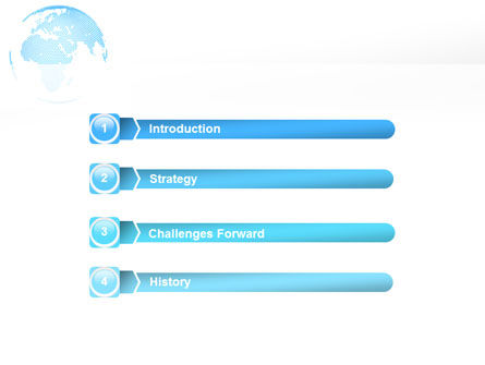 Clusters Of World PowerPoint Template Slide 3