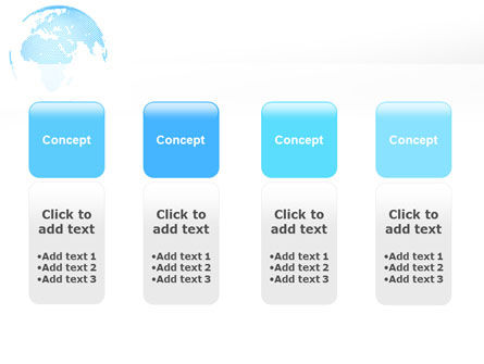 Clusters Of World PowerPoint Template Slide 5