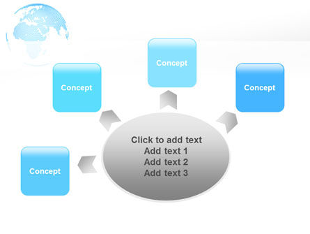 Clusters Of World PowerPoint Template Slide 7