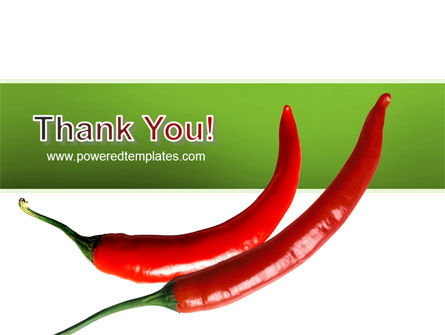 Hot Pepper PowerPoint Template Slide 20
