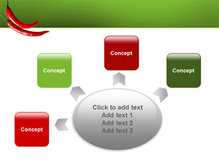 Hot Pepper PowerPoint Template Slide 7