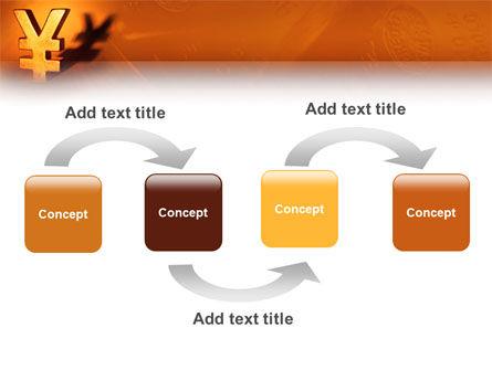 Yen PowerPoint Template, Slide 4, 02552, Financial/Accounting — PoweredTemplate.com