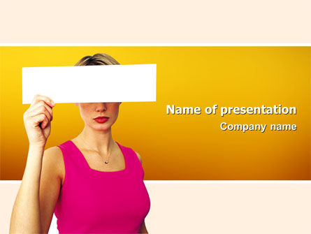 Confidential PowerPoint Template