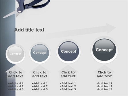Scissors PowerPoint Template Slide 13