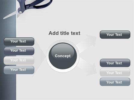 Scissors PowerPoint Template Slide 14