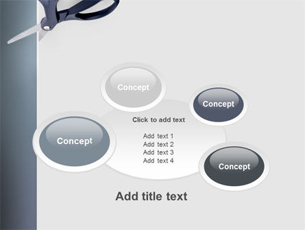 Scissors PowerPoint Template Slide 16