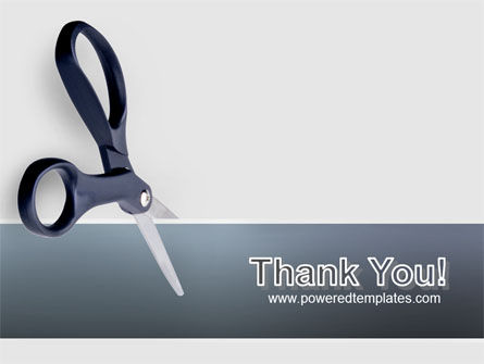 Scissors PowerPoint Template Slide 20