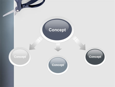 Scissors PowerPoint Template Slide 4