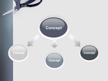 Scissors PowerPoint Template, Slide 4, 02557, Business Concepts — PoweredTemplate.com