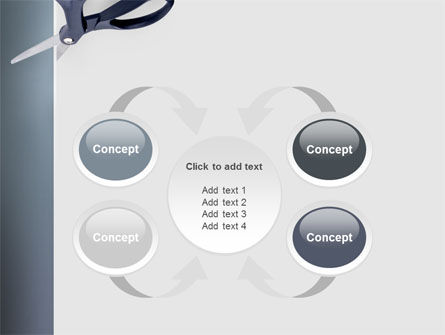 Scissors PowerPoint Template Slide 6