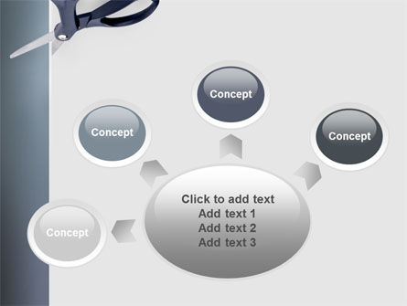Scissors PowerPoint Template Slide 7