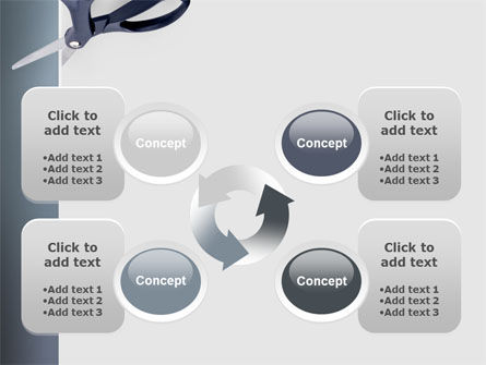 Scissors PowerPoint Template Slide 9