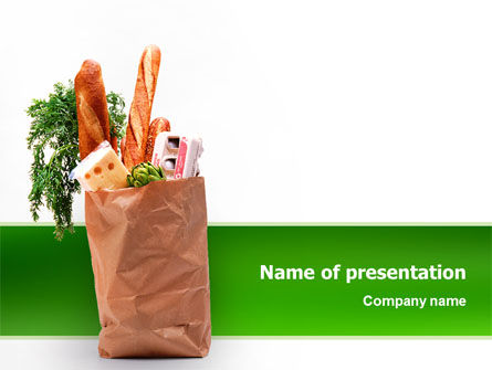 Food & Beverage: Products PowerPoint Template #02561