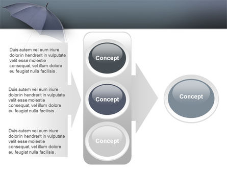 Umbrella PowerPoint Template Slide 11