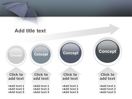 Umbrella PowerPoint Template Slide 13