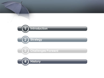 Umbrella PowerPoint Template, Slide 3, 02562, Business Concepts — PoweredTemplate.com