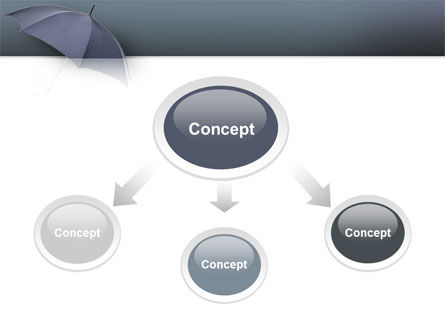 Umbrella PowerPoint Template, Slide 4, 02562, Business Concepts — PoweredTemplate.com