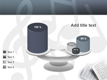 Printed Music PowerPoint Template Slide 10