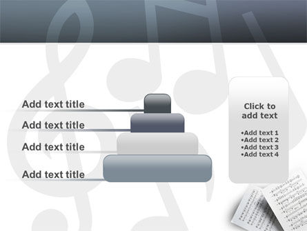 Printed Music PowerPoint Template Slide 8
