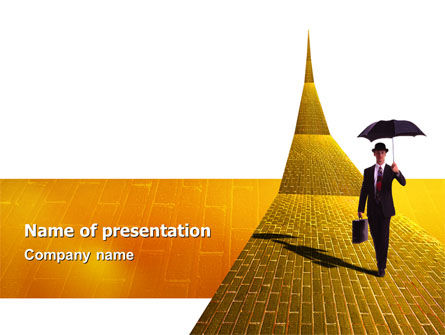 Business: Dream Land PowerPoint Template #02566
