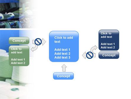 Weaving Mill PowerPoint Template Slide 13