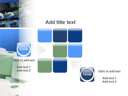 Weaving Mill PowerPoint Template Slide 16