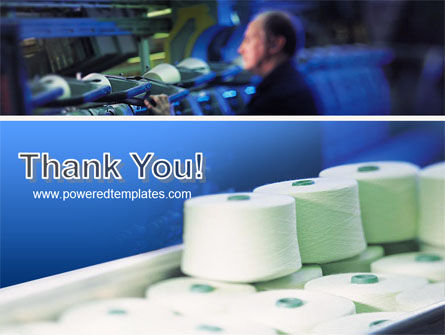 Weaving Mill PowerPoint Template Slide 20