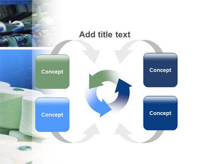 Weaving Mill PowerPoint Template Slide 6