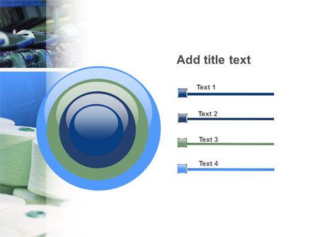 Weaving Mill PowerPoint Template Slide 9