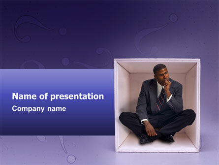 Consulting: Thinking PowerPoint Template #02571