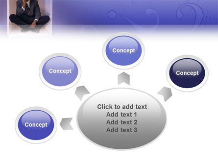 Thinking PowerPoint Template Slide 7